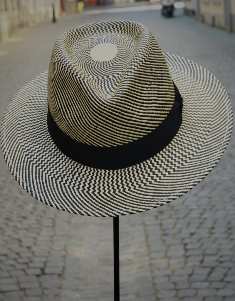 Fedora Panama Fashion Bicolor