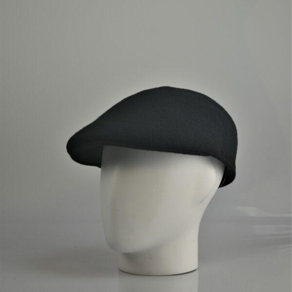 Bisenzio flatcap zwart
